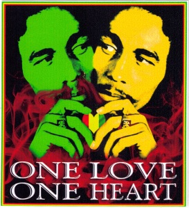 LS231-One-Love-One-Heart-Bob-Marley-Bumper-Sticker