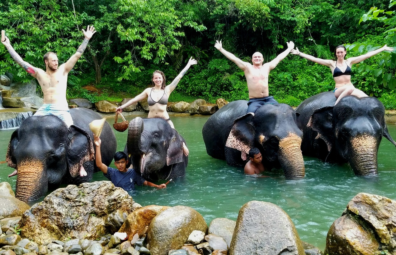 When being a tourist feels good: The Phang Nga Elephant ...