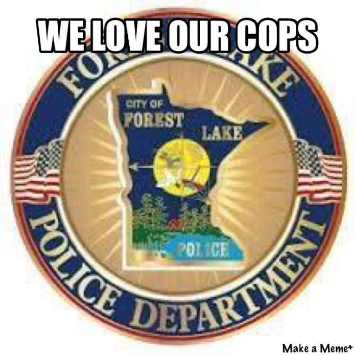 we love our cops